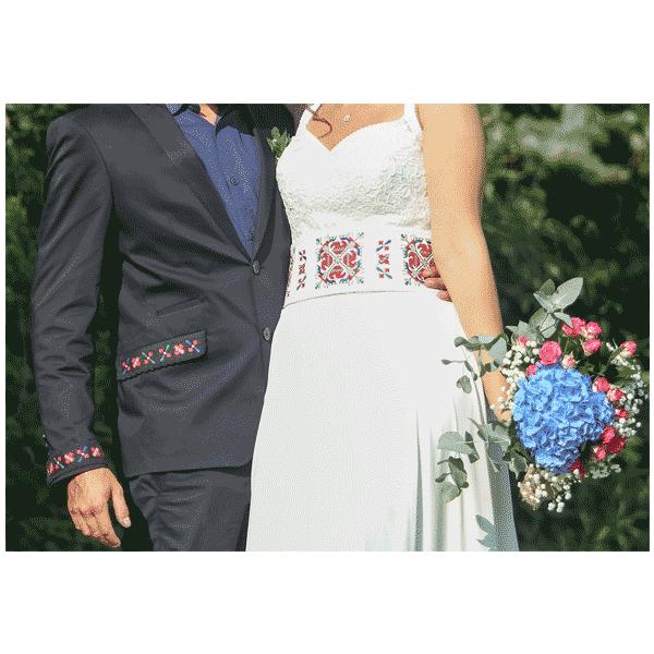 Бродерия за сватба