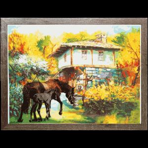 Картина-коне